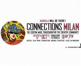 Mandala will be at LeBook Connections thu 17th Oct at Fondazione Feltrinelli, Milan