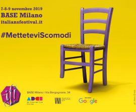 Campagna creativa IF! Italians Festival | Direzione creativa Karim Bartoletti e Francesco Guerrera | Cdp Mandala Creative Productions | Post productions artist White Rabbit Lab | Location Milano Studio